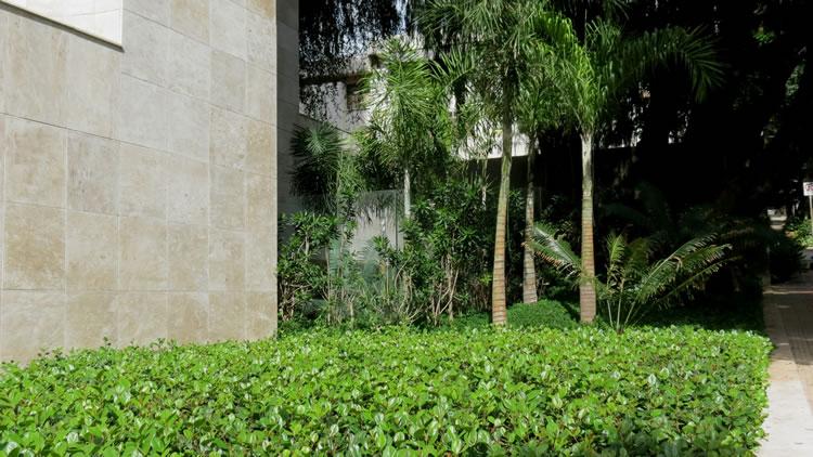 Jardim Edifício Três Árvores