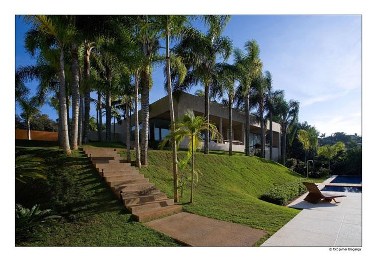 Jardim residência AR