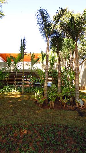 Jardim residência VR